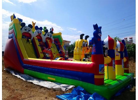 Şişme Büyük Oyun Parkı Miki Oyun Dünyası